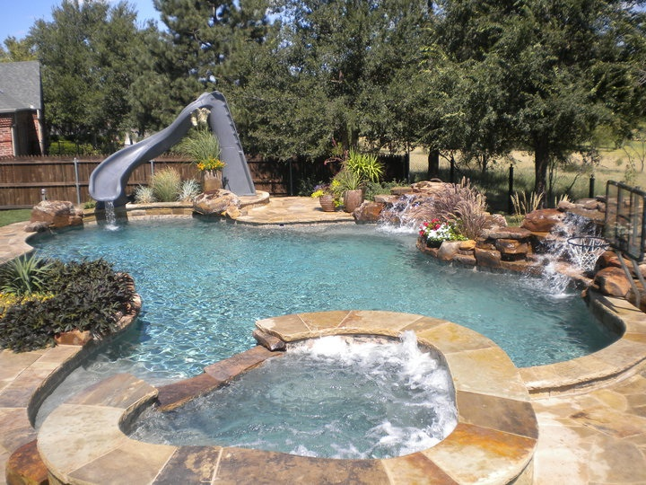 Little Rock concrete pool