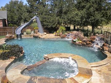 Little Rock concrete pool
