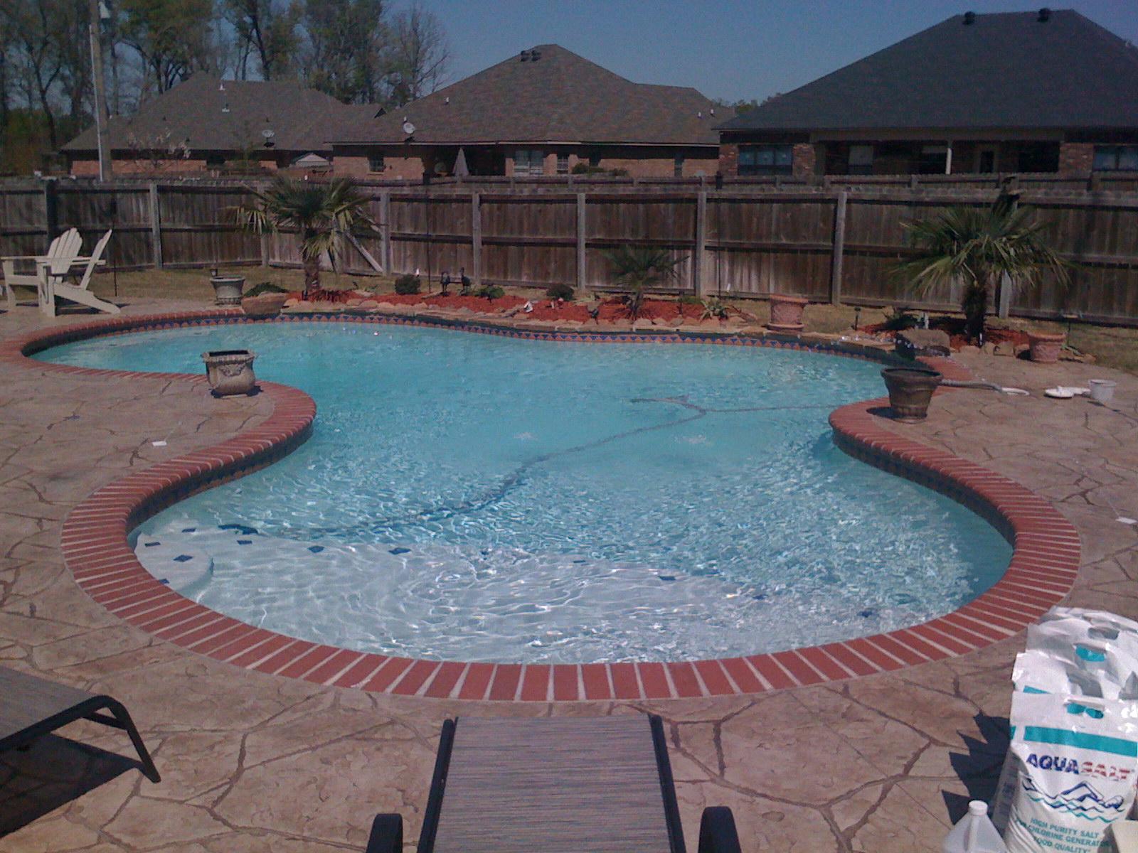 Maumelle Concrete Pool