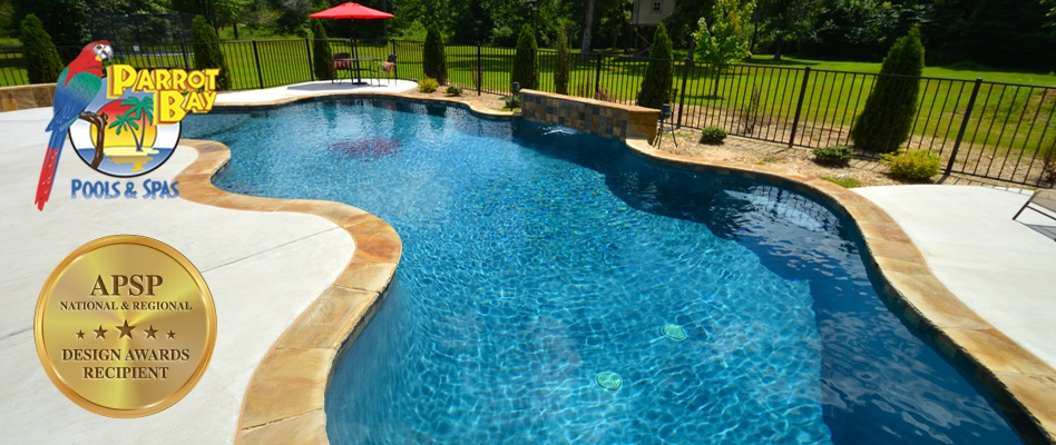 Beautiful Custom Pool And Spa