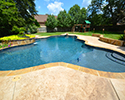Freeform Pool With Waterfall | Bryant