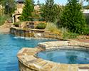 Freeform Custom Swimming Pool With Spa | Little Rock