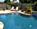 Freeform Pool With Fountain | Benton
