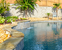 Freeform Swimming Pool With Waterfall | Little Rock