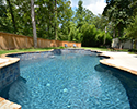 Freeform Swimming Pool With Fountain | Bryant