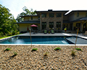 Rectangular SwimmingPool With Tanning Ledge | Little Rock