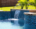 Custom Swimming Pool With Waterfall | Bryant