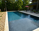 Rectangular Swimming Pool With Tanning Ledge | Little Rock