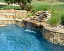 Freeform Swimming Pool with Spa | Central Arkansas