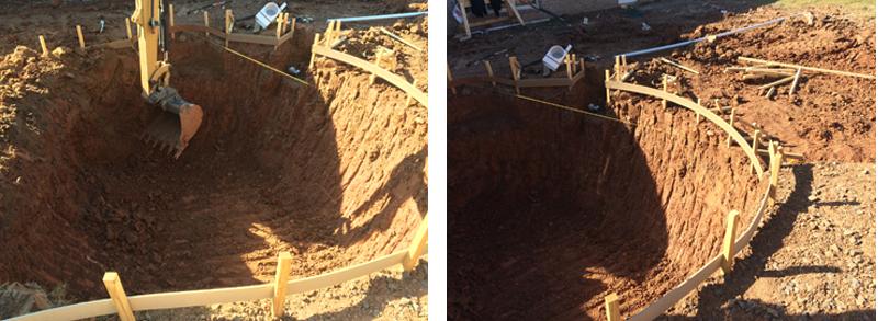 Arkansas Soil Types Amid Swimming Pool Construction