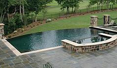 Vanishing Edge swimming pool