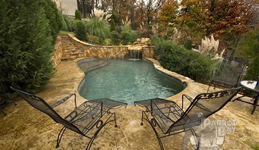 Pool With Grotto