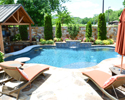 Custom Pool With Cook Center | Little Rock