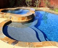 Custom Swimming Pool With Spa | Vilonia